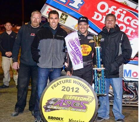Stewart Soars to Midwest Victory at Eagle!