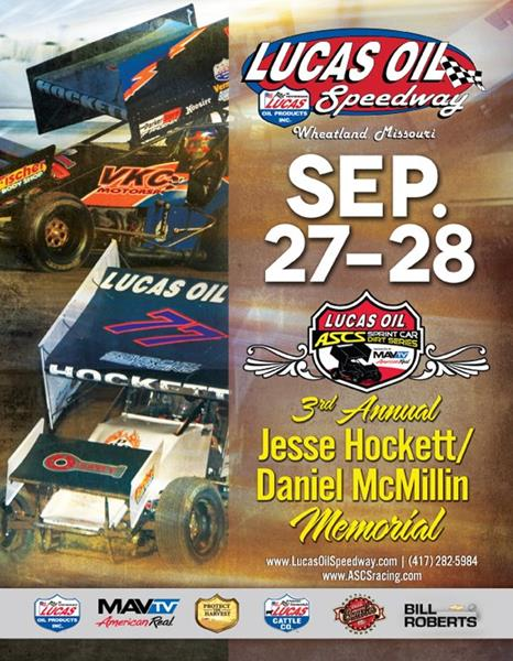Lucas Oil ASCS heads to Wheatland for Hockett/McMillin Memorial