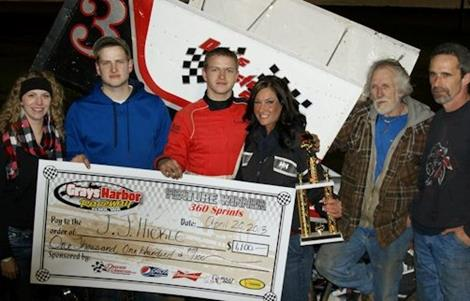 Hickle Brings Home 360 Sprint Feature