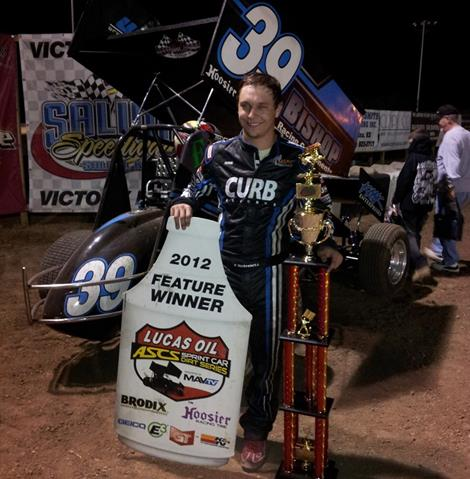 Kevin Swindell Scores First Lucas Oil ASCS Victory in Kansas