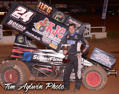 McCarl Sails to Victory on Lone Star Sprint Nationals Night Two