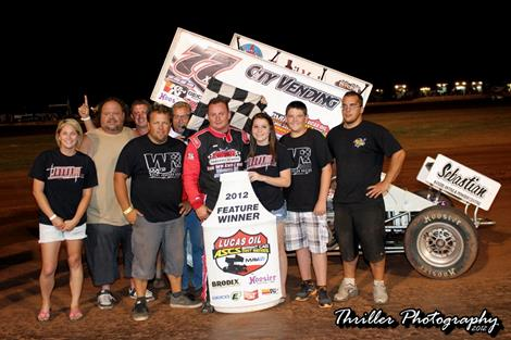 Wayne Johnson takes Lawton Speedweek Win