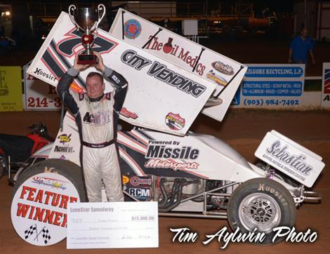 Wayne Johnson survives for $13,000 Lone Star Payday