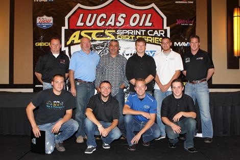 ASCS Drivers Honored at Awards Banquet