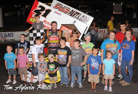 Brian Brown charges to first Devil's Bowl Victory