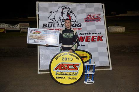 Roger Crockett Wins Bully Dog Performance Speedweek Northwest Round #2