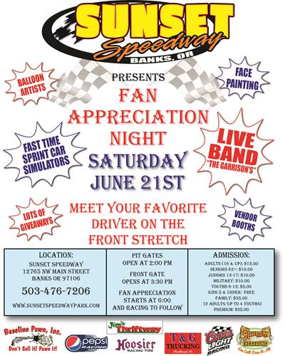 Fan Appreciation Night To Host Lots Of Activities And Events
