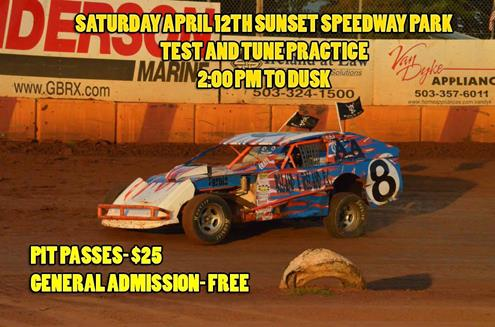 Sunset Speedway Parks Hopes To Get To Practice Saturday April 12th