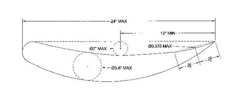 Nose Wing Diagram/Specification