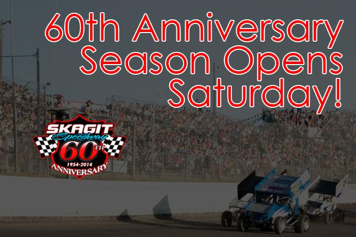 60th Anniversary Season Starts Saturday at Skagit Speedway