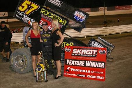 Stewart Puts ROCKSTAR/Makita No. 57 in Victory Lane at Dirt Cup Night #2