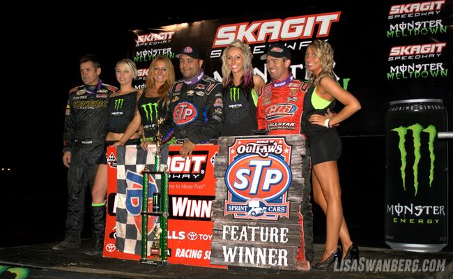 Schatz Drives to 18th World of Outlaws STP Sprint Car Win