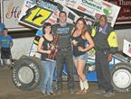 Bickett Blasts To Huset's Win