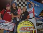 Forler Makes Last Lap Pass For ASCS-Northwest Yakima Win; Baker Crowned 2014 Champ