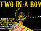 Saldana Scores Second Win in a Row