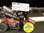 Baughman Brings Home Trophy Following First Devil's Bowl Triumph