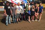 Alumbaugh Wins the 'Tribute to Jesse' with the ASCS Warriors at Double X Speedway