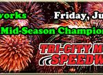 Fireworks & Mid-Season Championships Friday July 3rd!