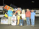 Jack Dover Wins the Lucas Oil ASCS Road to Knoxville at I-80 Speedway