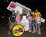 Bruce Thunders to Valley Speedway Victory