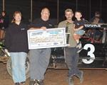 Glaser, Philpott, Crooks, Corley, and Christopherson Get To CGS Victory Lane