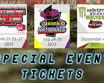 Season Tickets and Special Event Tickets on sale now!