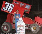 Jason Martin takes Opening Night at the Steve King Memorial