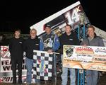 Blaney Bests Stout Field to Claim $15,000 During Renegade Sprints Open Wheel Championships