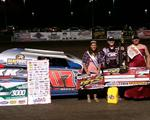 Rookie Crapser rocks Rapid Speedway for first USMTS win!