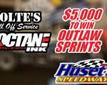 TONIGHT: $5,000 to win Outlaw Sprints