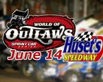 Outlaws invade Huset's June 14