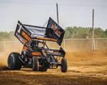 Blaney Battles for Fourth-Place Finish during Freedom 40 at Atomic Speedway