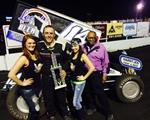 Jody Caps Stellar Weekend with Husets Outlaw Win!