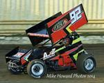 Weaver Nearly Captures First Career 360ci Sprint Car Victory at Lawton