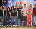 Larson Wins Chili Bowl Opener!