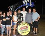 Gabbard Takes ASCS Southwest Honors in Winged Debut!