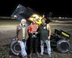 Hickle Goes Back-to-Back with ASCS Frontier