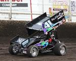 Beierle Reaches First 410 Feature with National Sprint League at Huset's