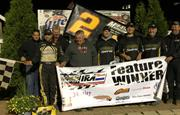 BALOG VICTORIOUS ON RECORD SETTING NIGHT AT ANGELL PARK SPEEDWAY, OUTRUNS MADSEN AND REINKE FOR WIN TO MAINTAIN PERFECT IRA STATUS!