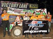BACON TAKES NATIONAL SPRINT CAR TITLE