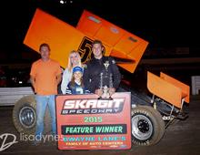 Fisher Returns to Victory Lane at Skagit Speedway