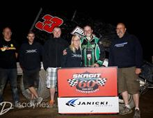 Heath Wins at Skagit Speedway
