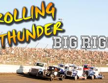 Big Rig Racing Returns Saturday Night!