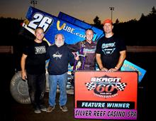 Malsam Wins on Ladies Night at Skagit Speedway