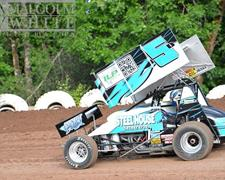 Dills Captures Eighth-Place Finish at Cottage Grove Speedway