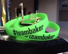 Last Weekend To Purchase #teambaker Bracelets At CGS This Saturday June 13th