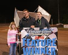 Barraza, Owen, And Maricle Earn Ladies Night Wins At Cottage Grove Speedway