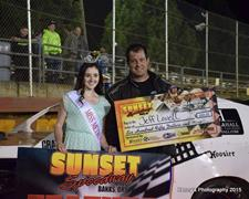 Lovell, Graham, LaBarge, McCleary, And Wolfe Bud Light Lime-A-Rita Ladies Night Winners
