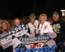 Cox And Corley Score Springfield Area Chamber Of Commerce/Pepsi Family Night Victories At CGS