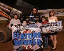 Trey Starks Dominates Night One Of Marvin Smith Memorial Grove Classic; Justin Duty Wins Late Model Feature